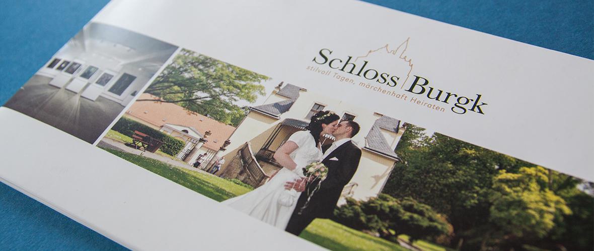 Schloss Burgk Freital Broschüre