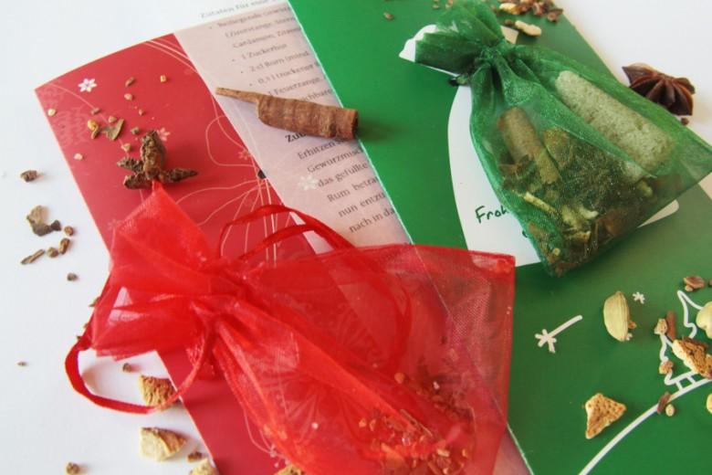 Duftende Weihnachtskarte
