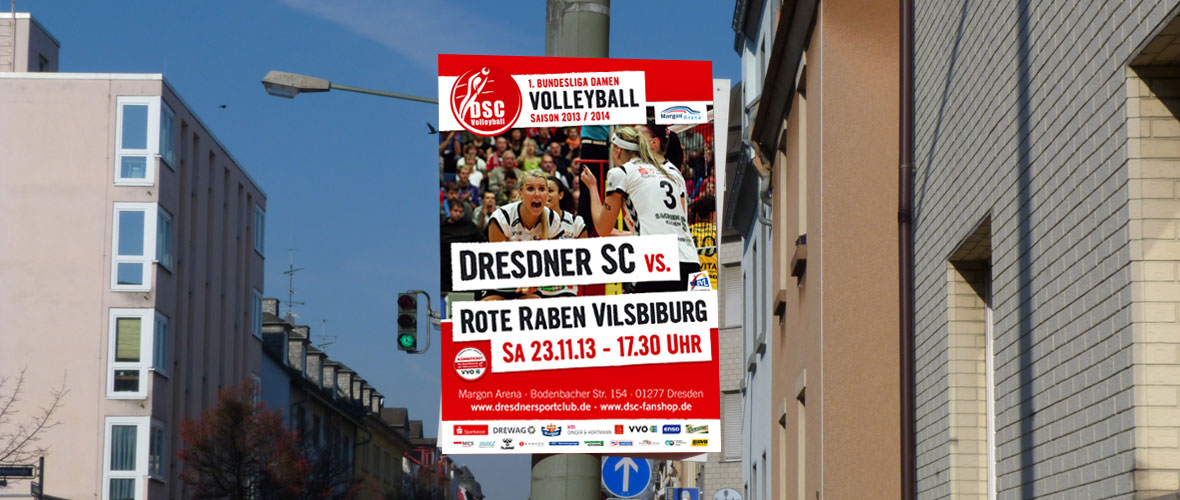 DSC Volleyball Plakate