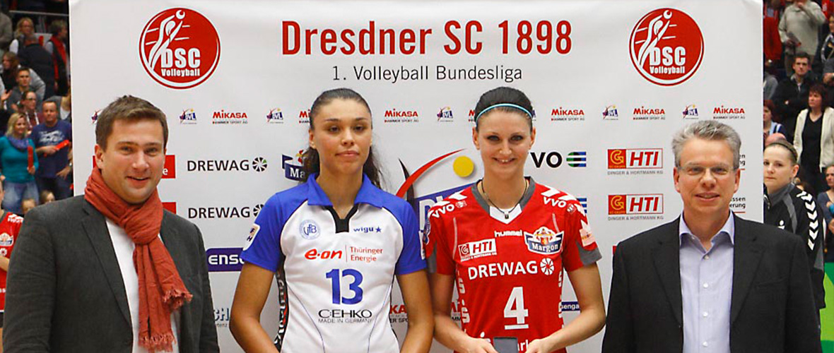 DSC Volleyball Pressewände