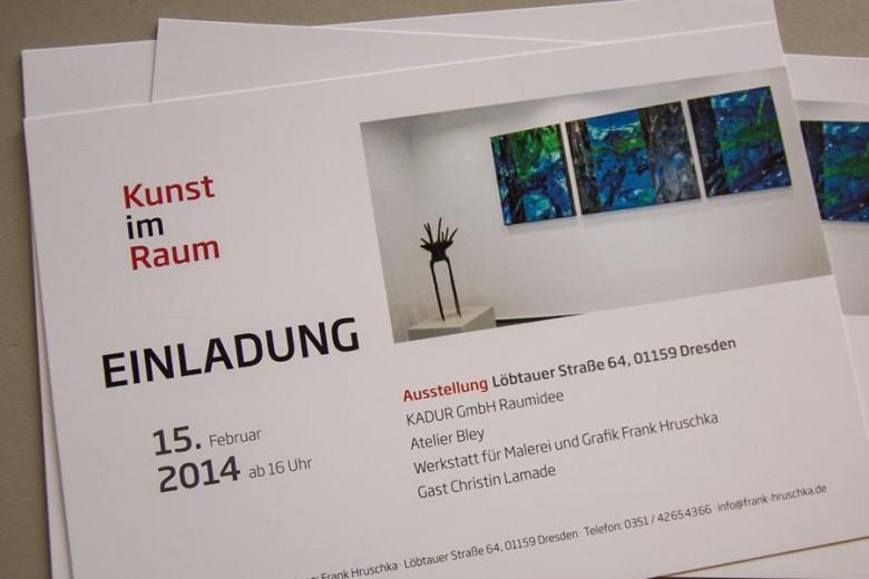Kunst Ausstellung im Kreativ-Loft Löbtauer Straße 64