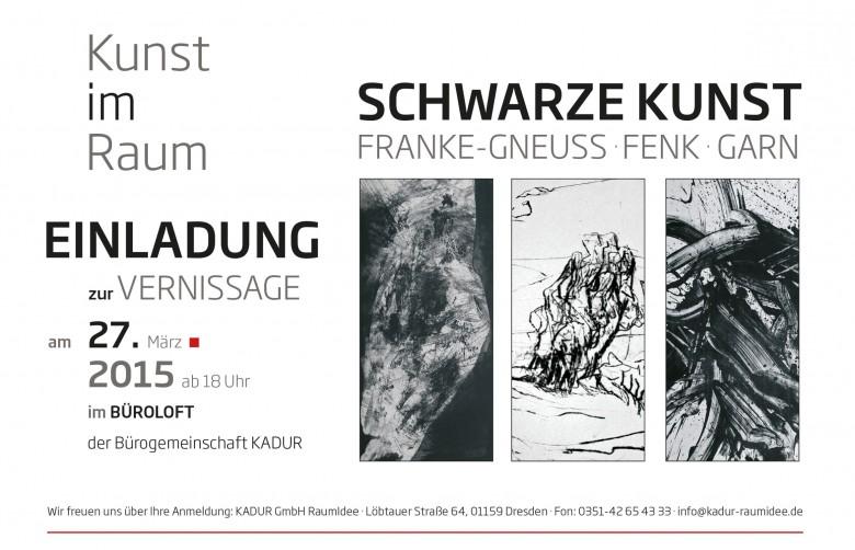 Einladung Vernissage Kunstausstellung