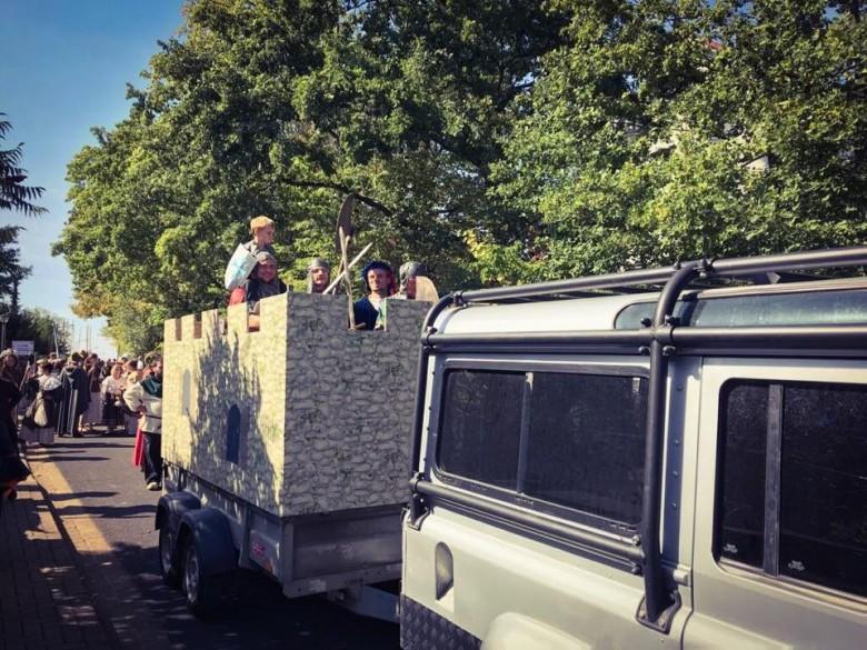 950 Jahre Pesterwitz Festumzugswagen