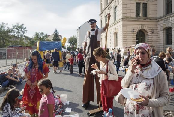 23. Friedrichstädter Stadtteilfest – wir haben es mit unterstützt!